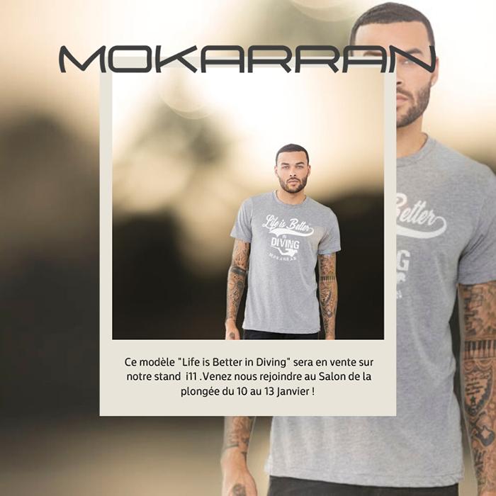 T-shirt Mokarran en coton bio