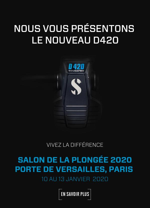 Nous vous présentons le nouveau SCUBAPRO D420 détendeur
