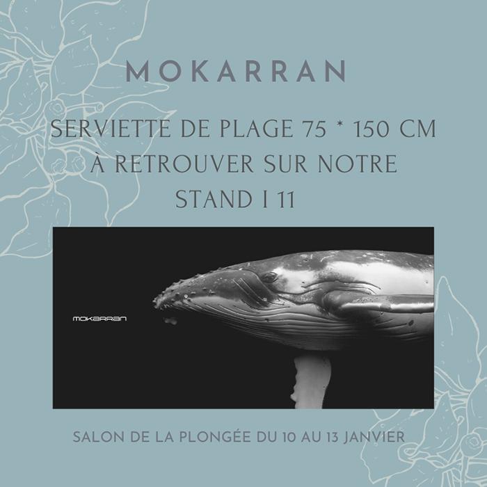 Serviette de plage Mokarran en exclusivité sur le stand i ...