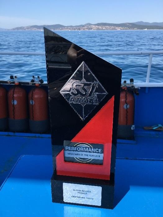 ALPHA BELUGA à Frejus St Raphael (SSI) vos plongees Mediterranee 2020