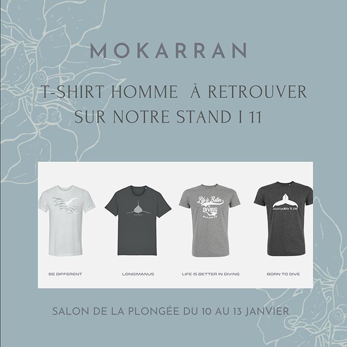 Tee-shirt homme MOKARRAN en Coton Bio