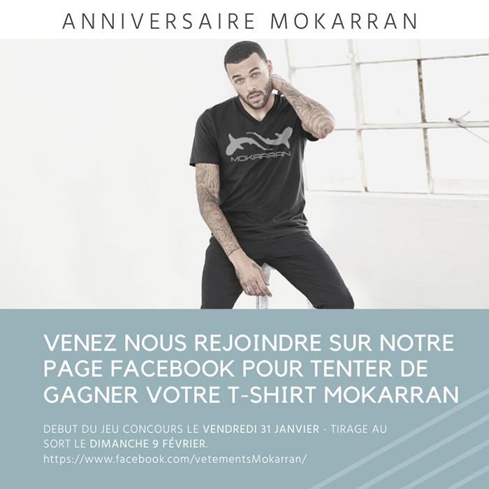 Gagnez votre t-shirt Mokarran !