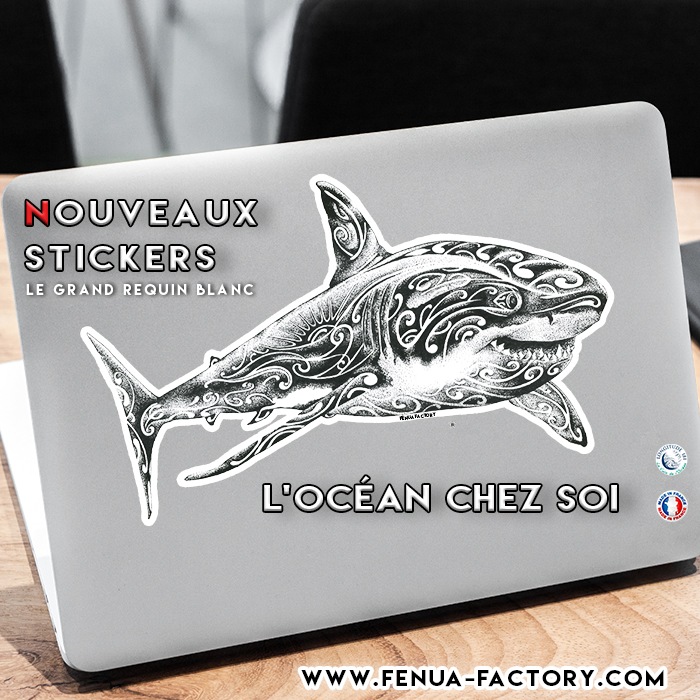La nouvelle collection de Stickers Fenua Factory arrive