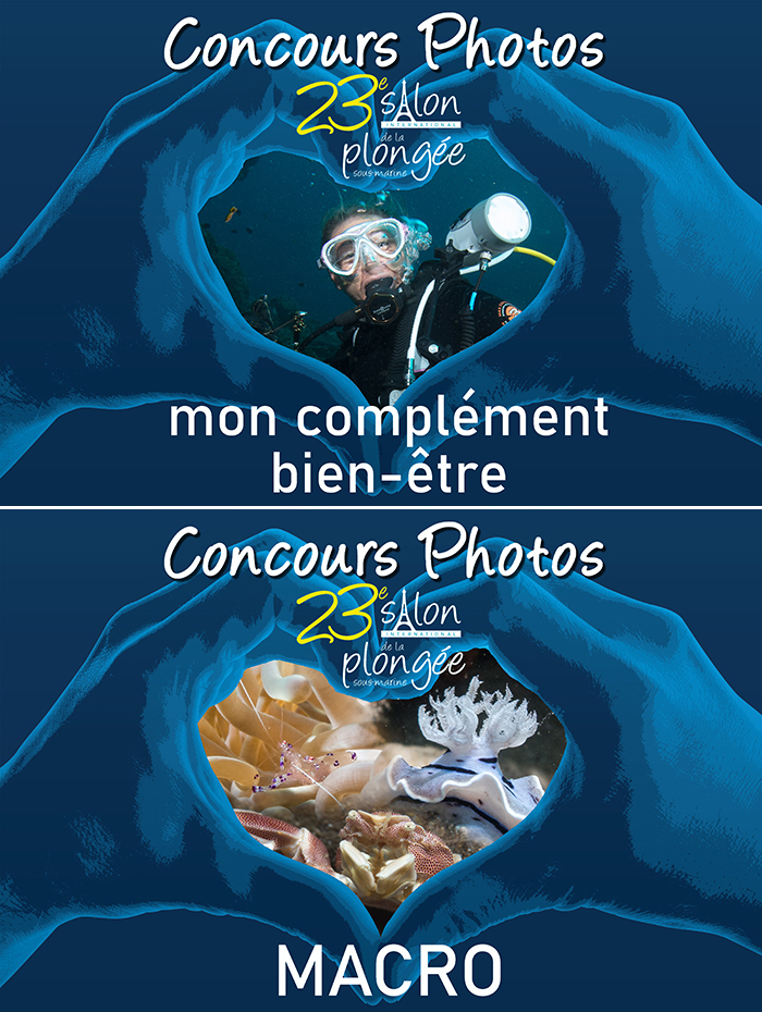 Concours Photo du 23ème Salon International de la Plongée ...