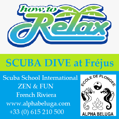 SCUBA DIVE with ALPHA BELUGA French Riviera FREJUS