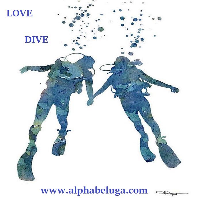 PLONGEE à deux en amoureux - LOVE DIVE - cadeau St Valentin ...