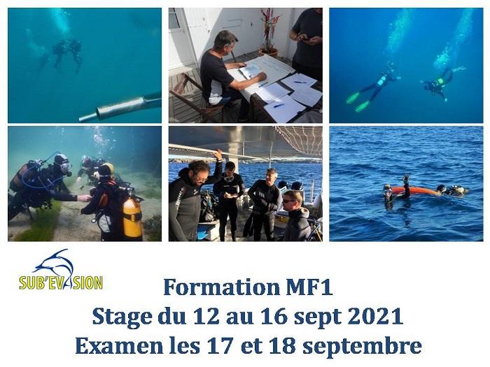 Dates stages et examens GP et MF1