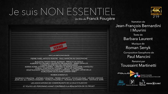 Le réalisateur Franck Fougère sélectionné au prestigieux Nikon film festival