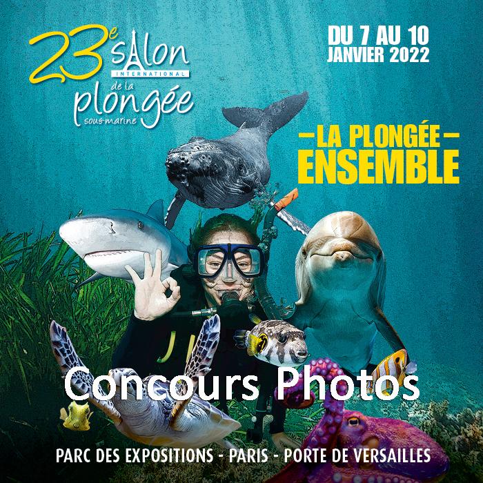 Le concours photos du 23ème Salon International de la Plongée Sous-Marine